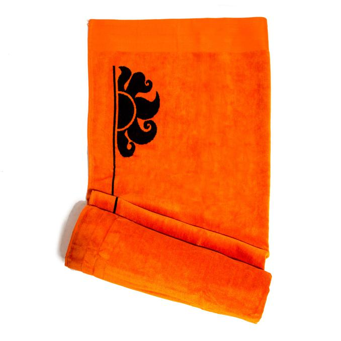 Beach Towel Fluo orange Sundek