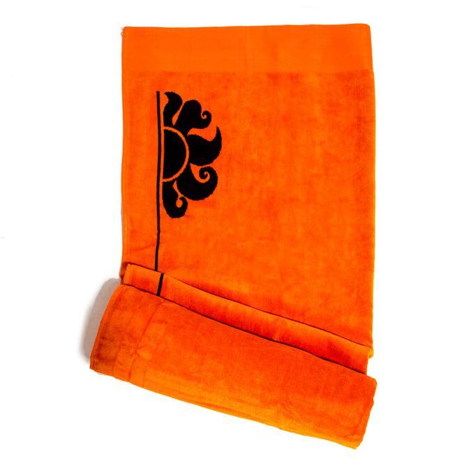 Beach Towel Fluo orange Sundek