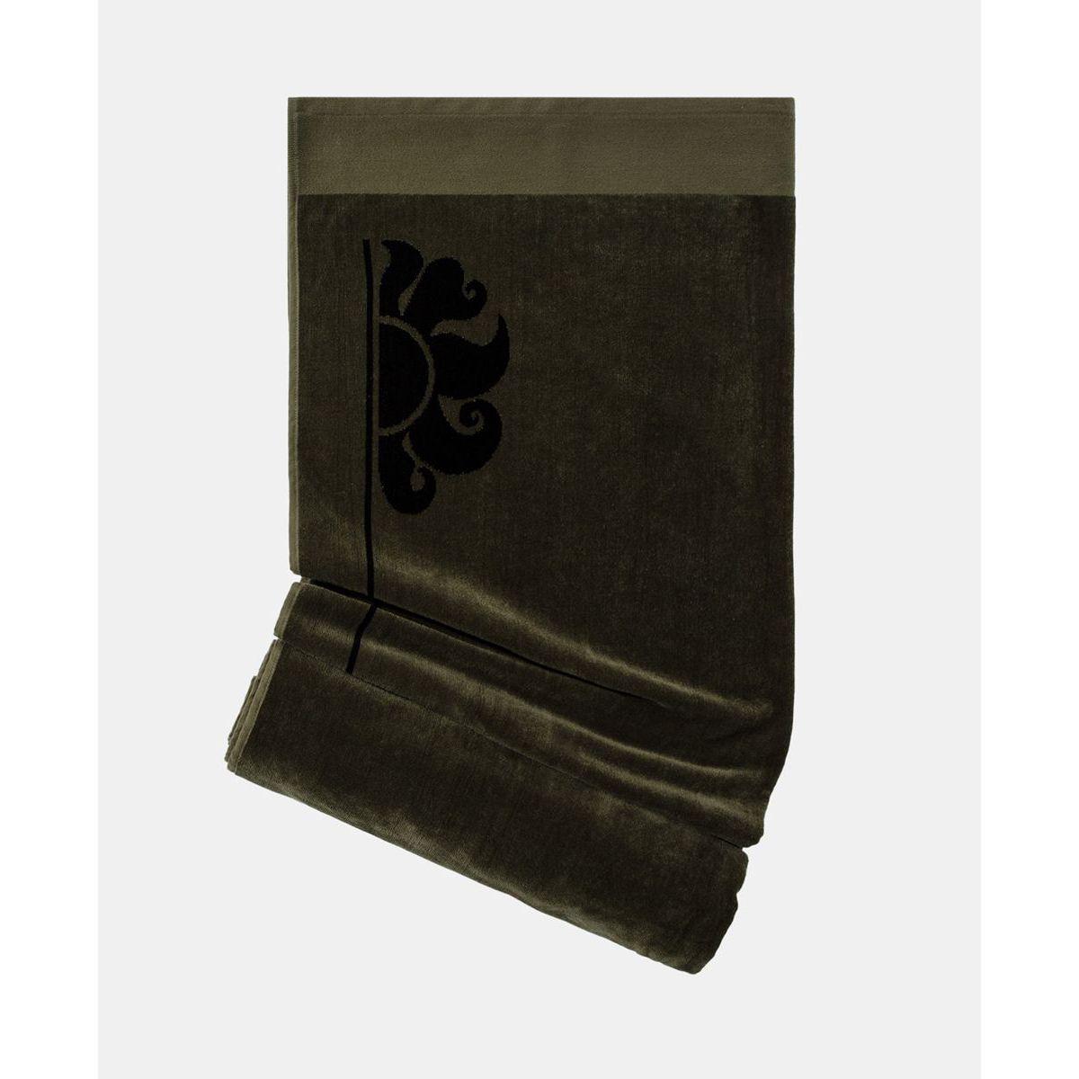 Beach Towel Dark ar.green 2 Sundek