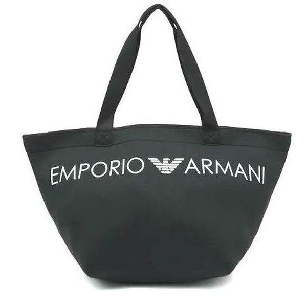 1. Neoprene beach bag Black Emporio Armani