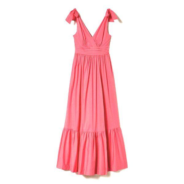 1. Knot dress Cherry pink Twin Set