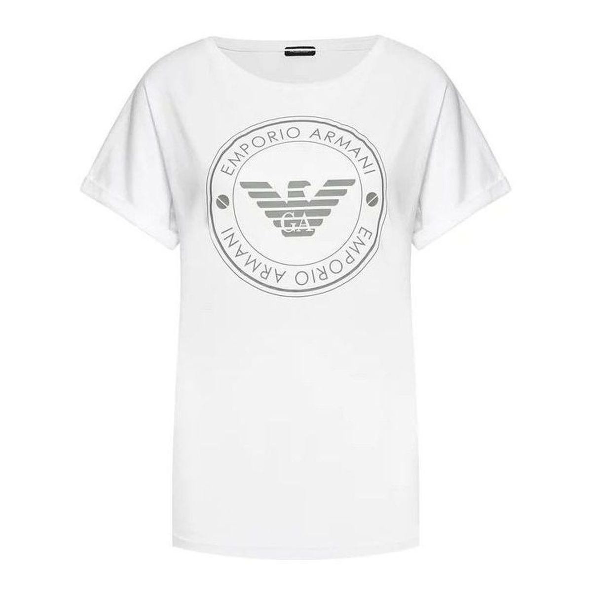 1. Ecofiber T-shirt White Emporio Armani