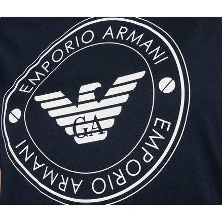 2. Ecofiber T-shirt Blue Emporio Armani