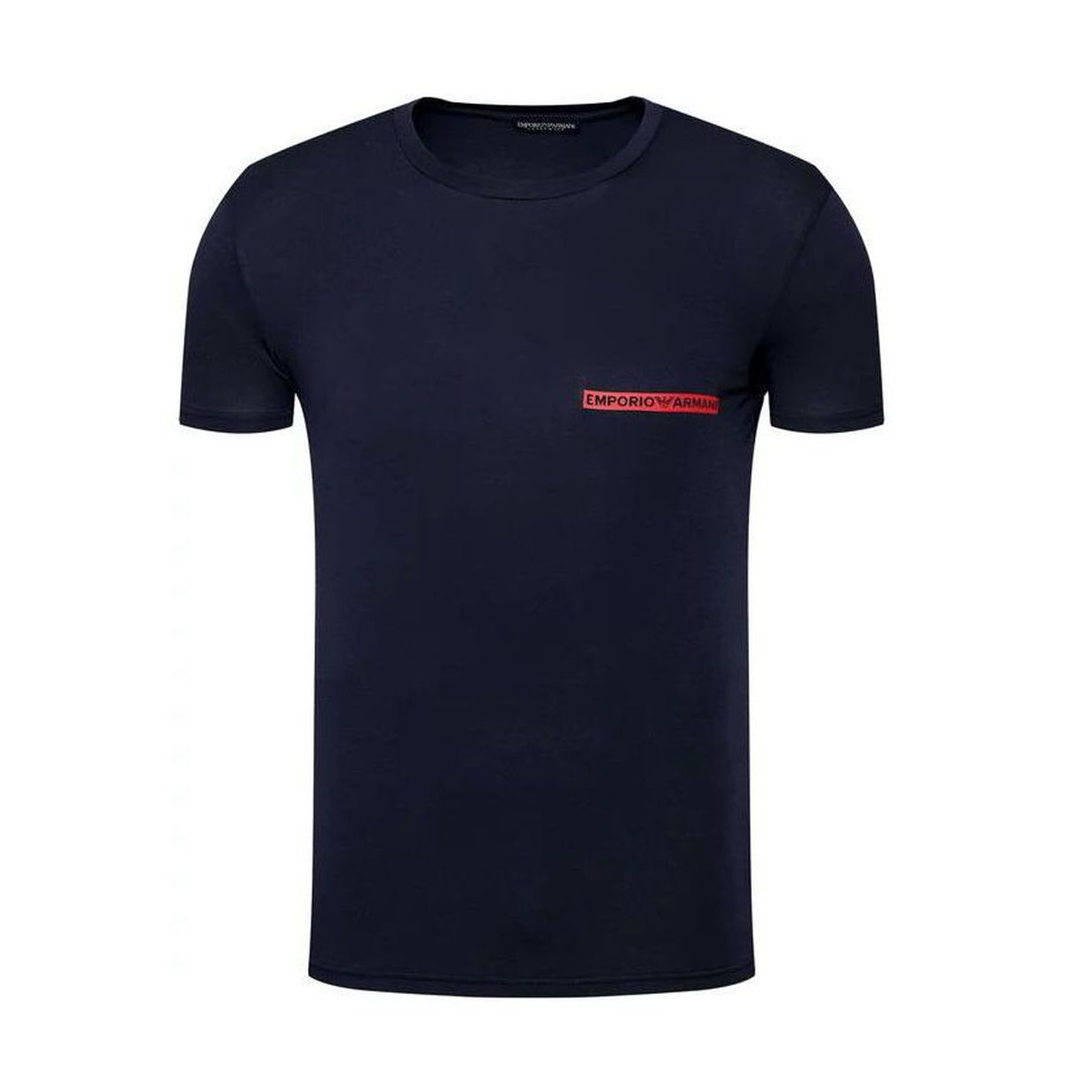 1. Spoken logo t-shirt Blue Emporio Armani