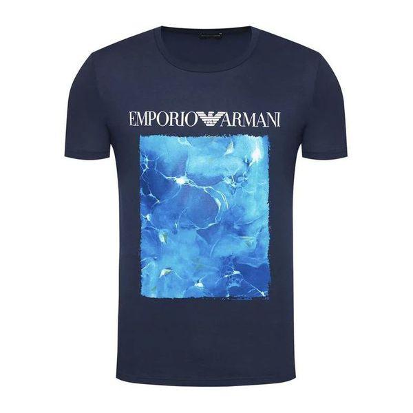 1. T-shirt print Blue a. Emporio Armani
