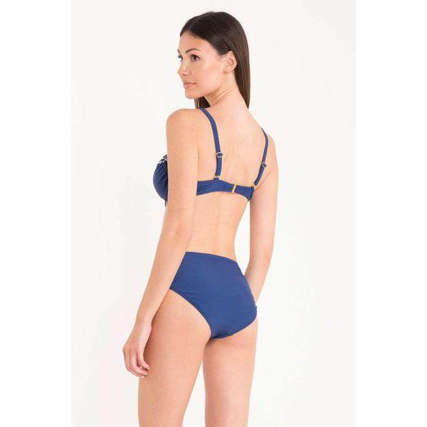 3. Sailor knot bikini blue David