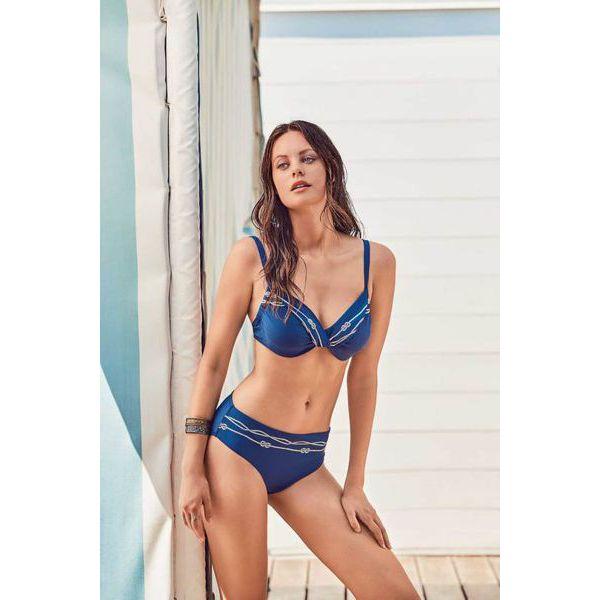 2. Sailor knot bikini blue David