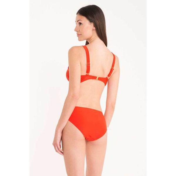 2. Triangle knot bikini Red David