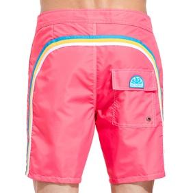 1. Fixed waist swim shorts Tropical pink Sundek