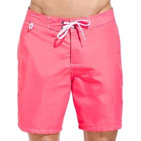 3. Fixed waist swim shorts Tropical pink Sundek