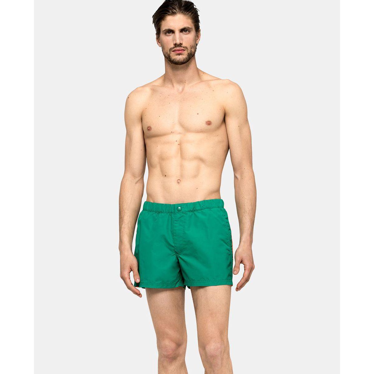 SHORT whith elastic Emerald green Sundek