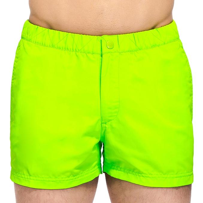 SHORT whith elastic Fluo green 9 Sundek