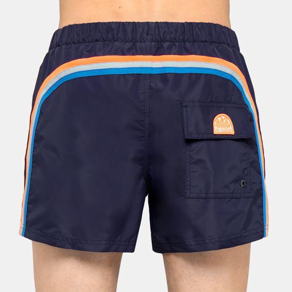 4. SHORT whith elastic Dark blue 7 Sundek