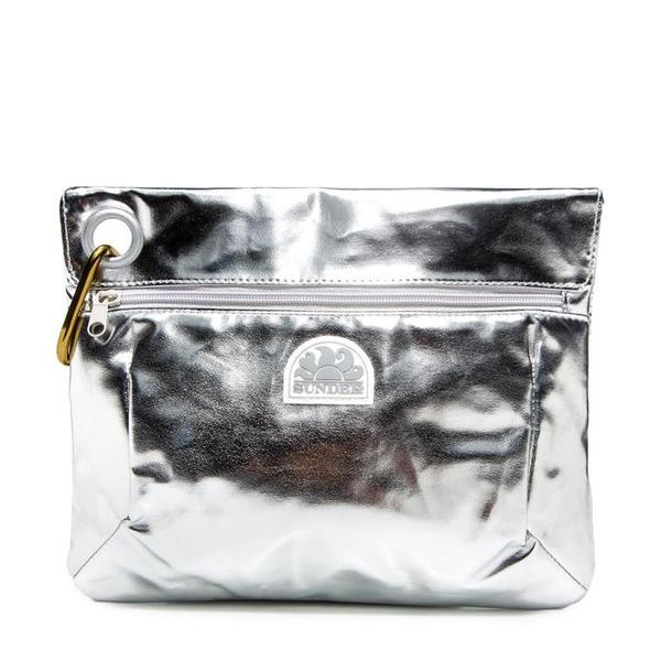 Clutch bag Silver Sundek