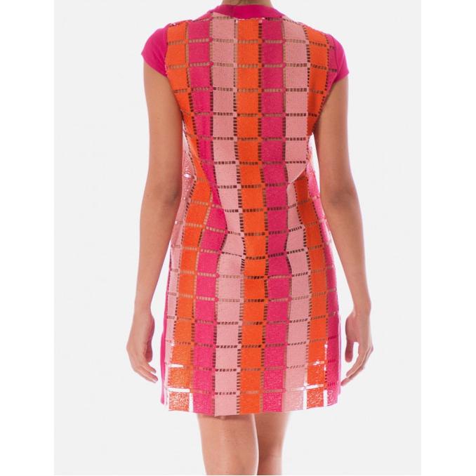 SHORT DRESS Fuxia Pin Up