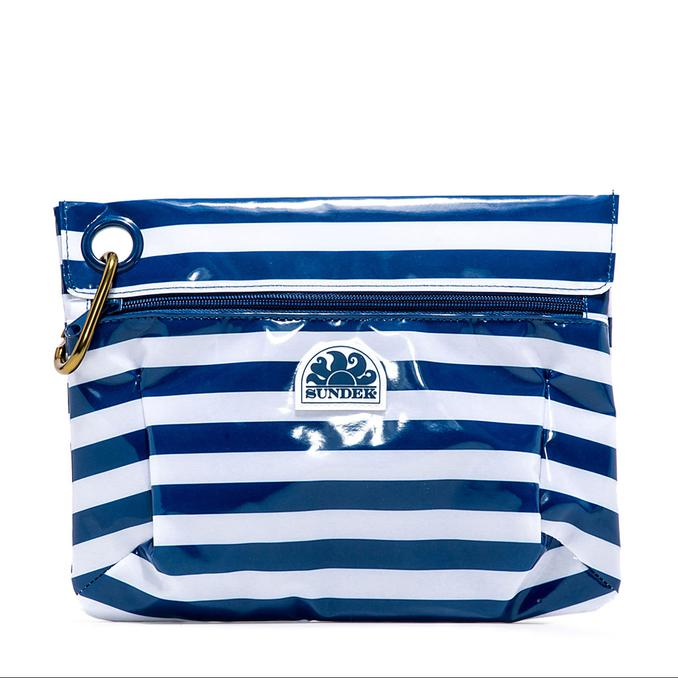 BEACH CLUTCH BAG Navy Sundek
