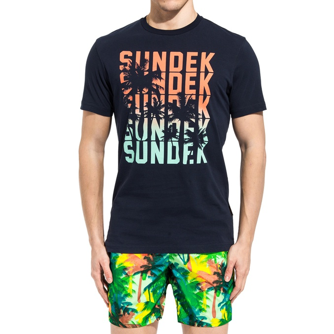 1. T-SHIRT Navy Sundek