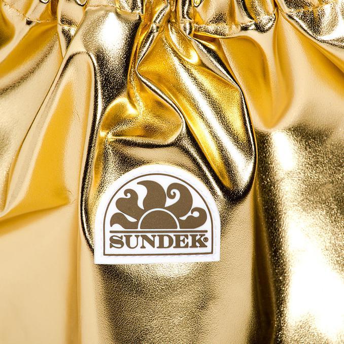 SHOE BAG Gold Sundek