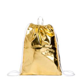 SHOE BAG Gold Sundek
