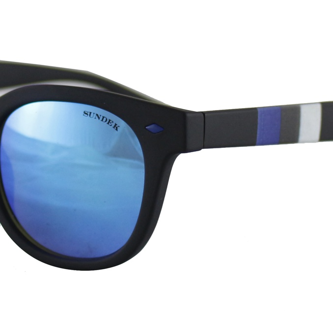 Rainbow Sunglasses Black Sundek