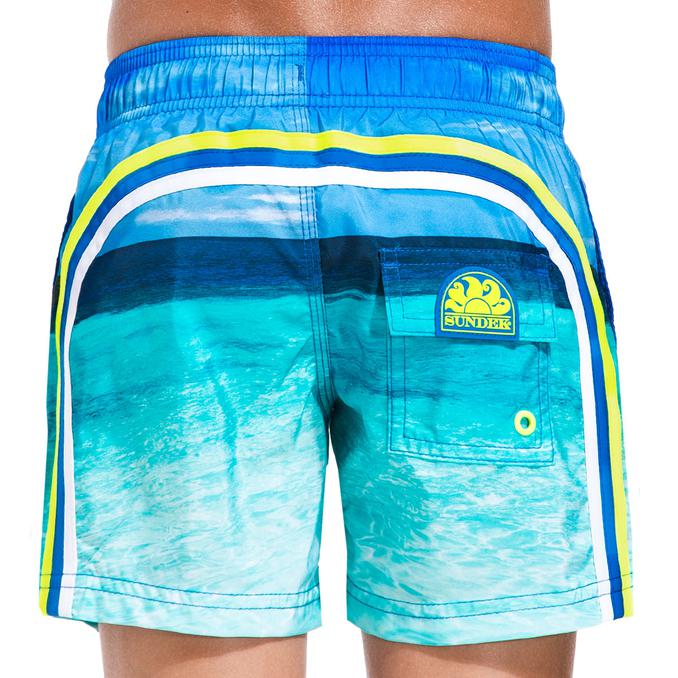 BEACH BOARDSHORT MEDIUM ELASTICIZED Ocean Sundek