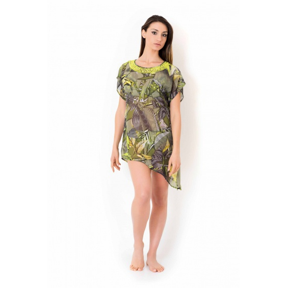 SHORT DRESS Green Vacanze Italiane