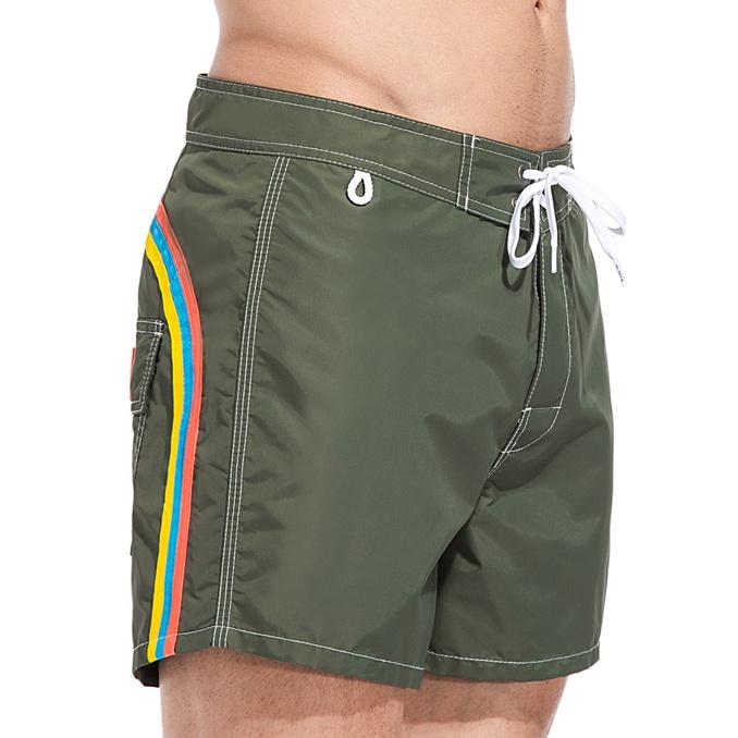 Boardshort low rise Dark-ar green Sundek