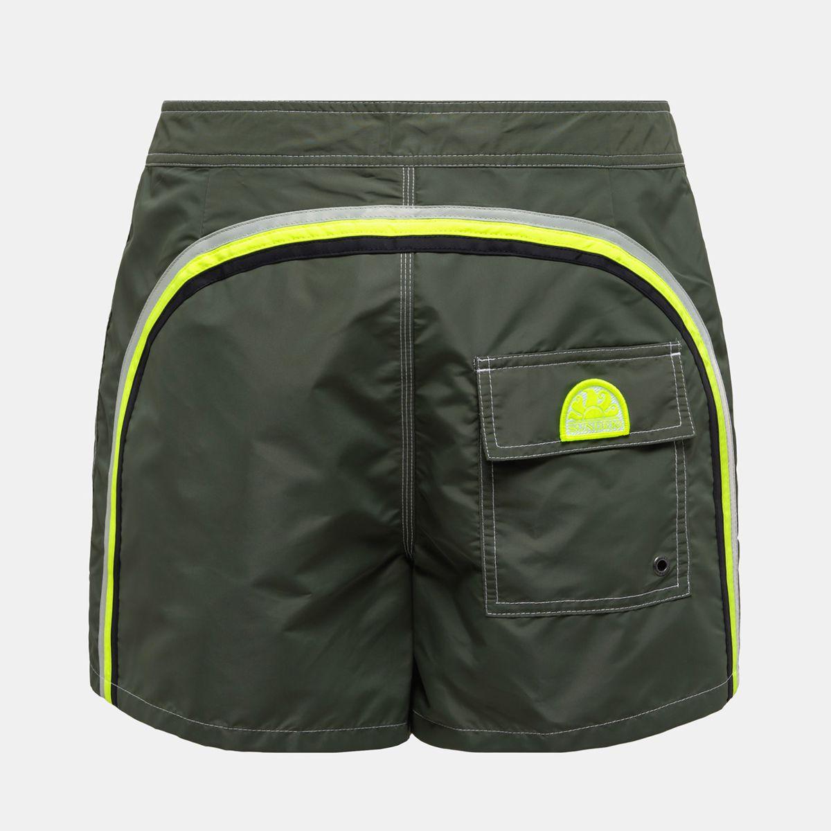 Boardshort low rise Dark green 8 Sundek