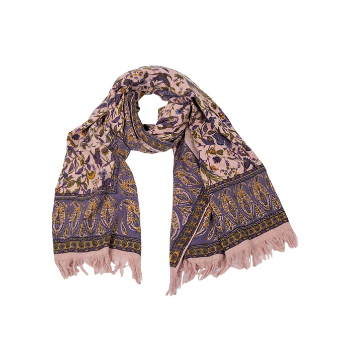 SCARF Rose and violet Ordi.to
