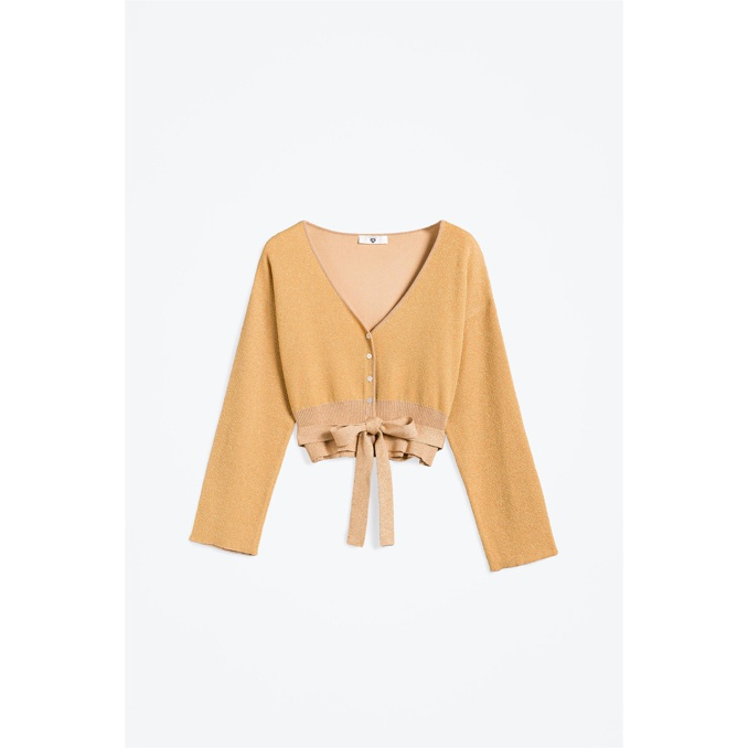 Short cardigan Gold Twin Set