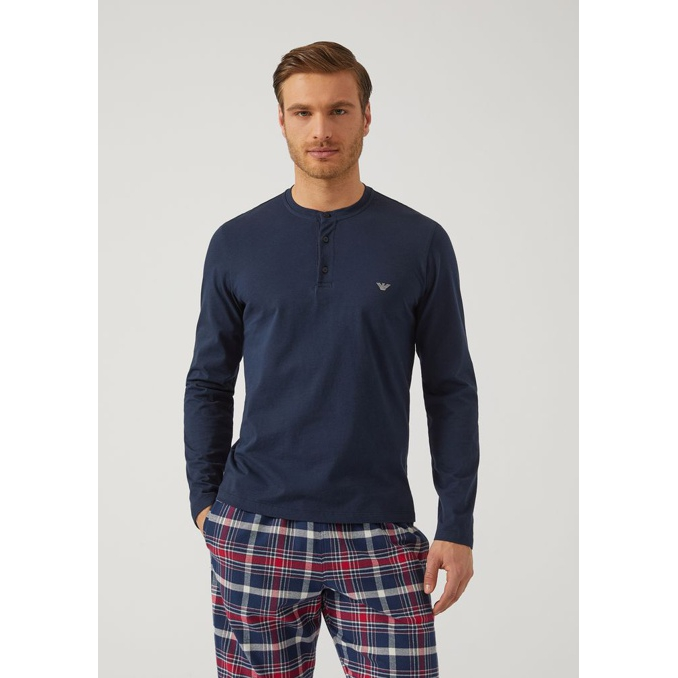 T.shirt Blue Emporio Armani