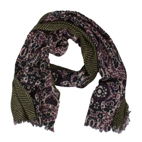 SCARF Pink-green Ordi.to