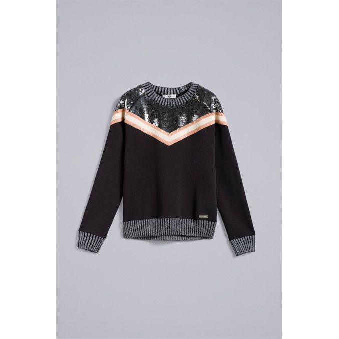 Knitshirt Black Twin Set
