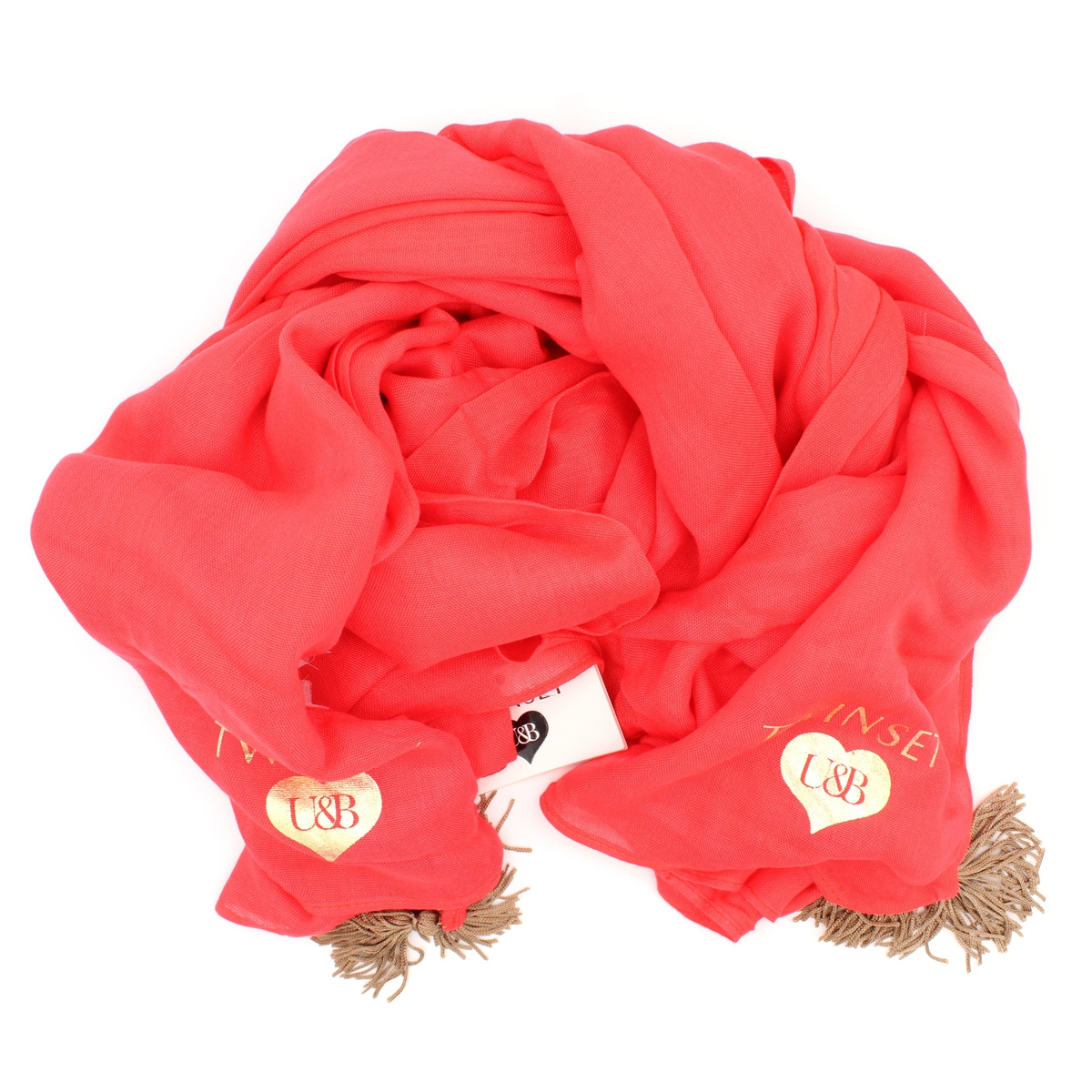 Kefiah Red Twin Set