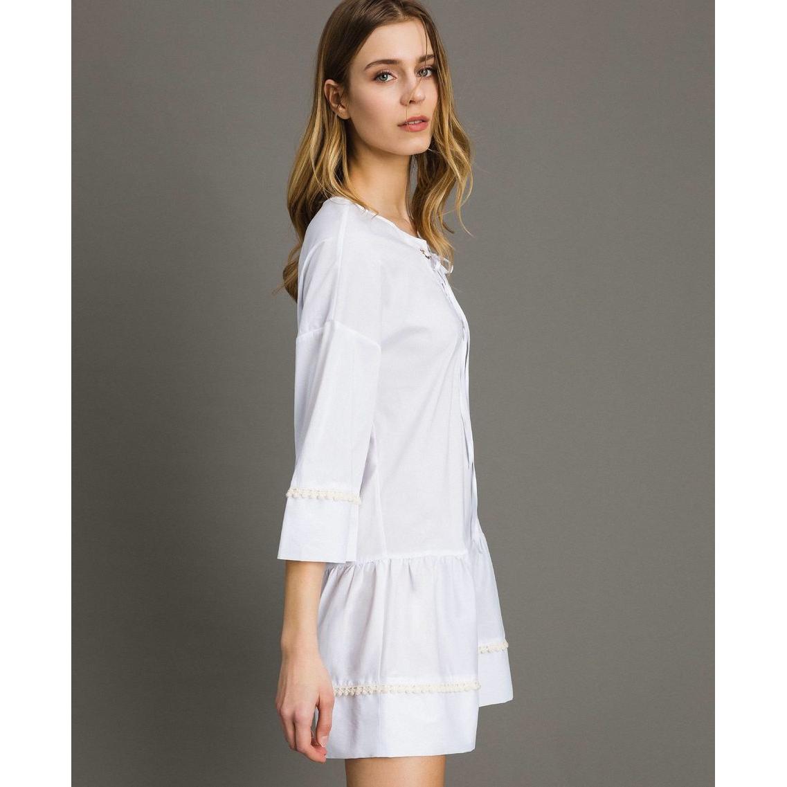 Dress White Twin Set