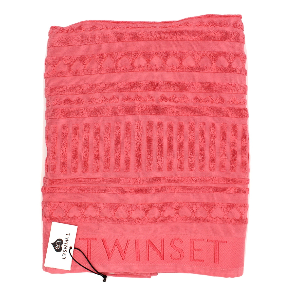 Towel Pink Twin Set