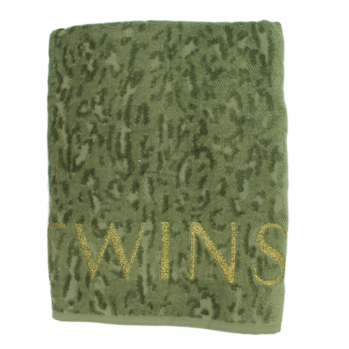 Towel Green Twin Set