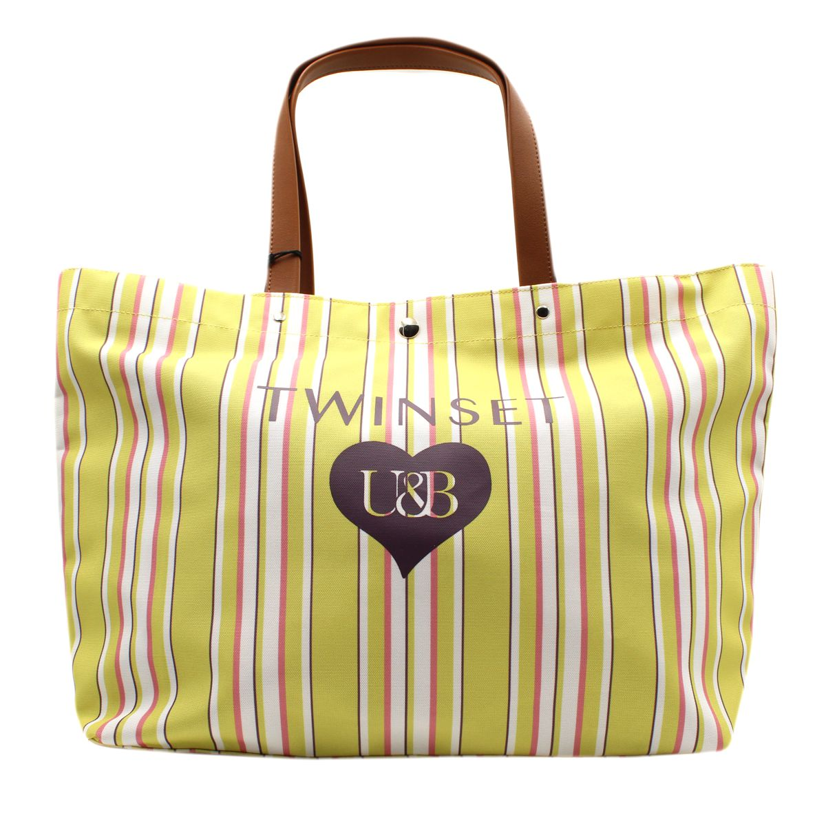 Maxi bag Yellow Twin Set