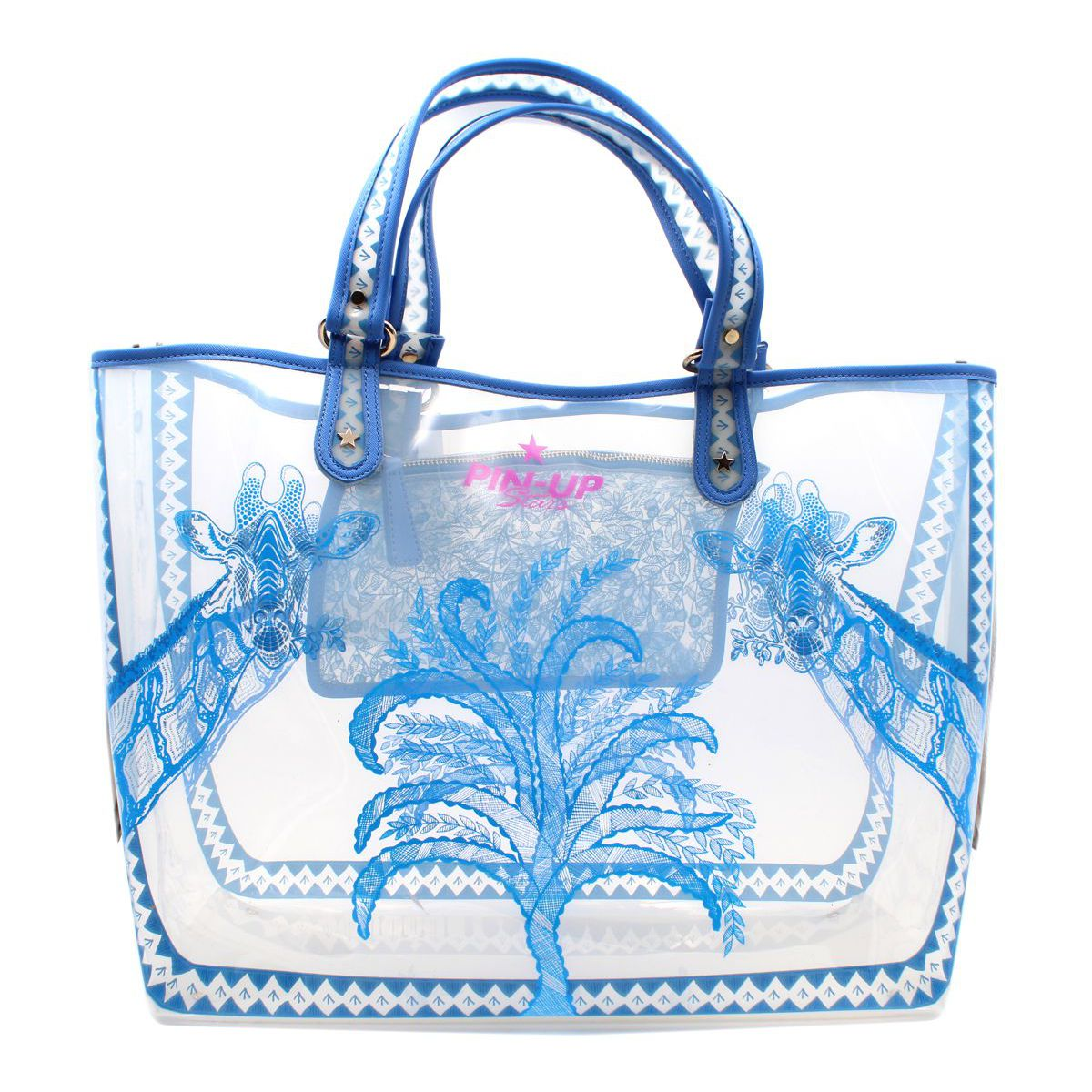 Maxi bag Light blue Pin Up