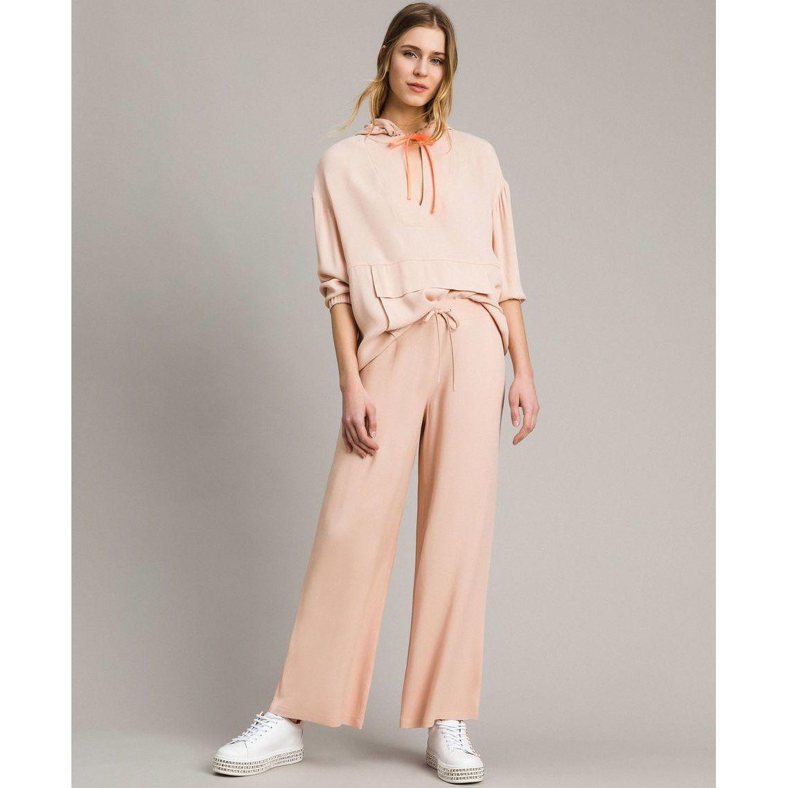 Pantalone palazzo Rosa Twin Set