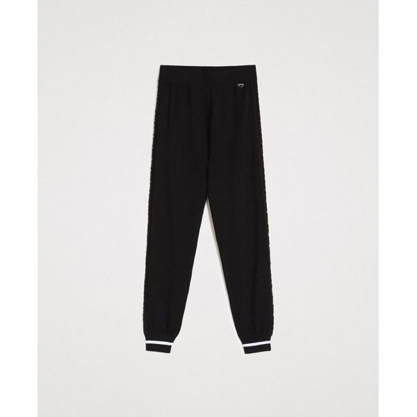 Jogging trouser Black Twin Set