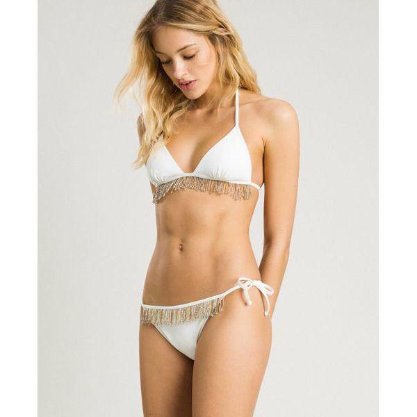 3. Bikini Ivory Twin Set