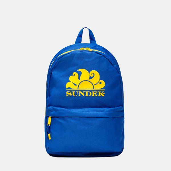 1. Backpack s. Light blue Sundek