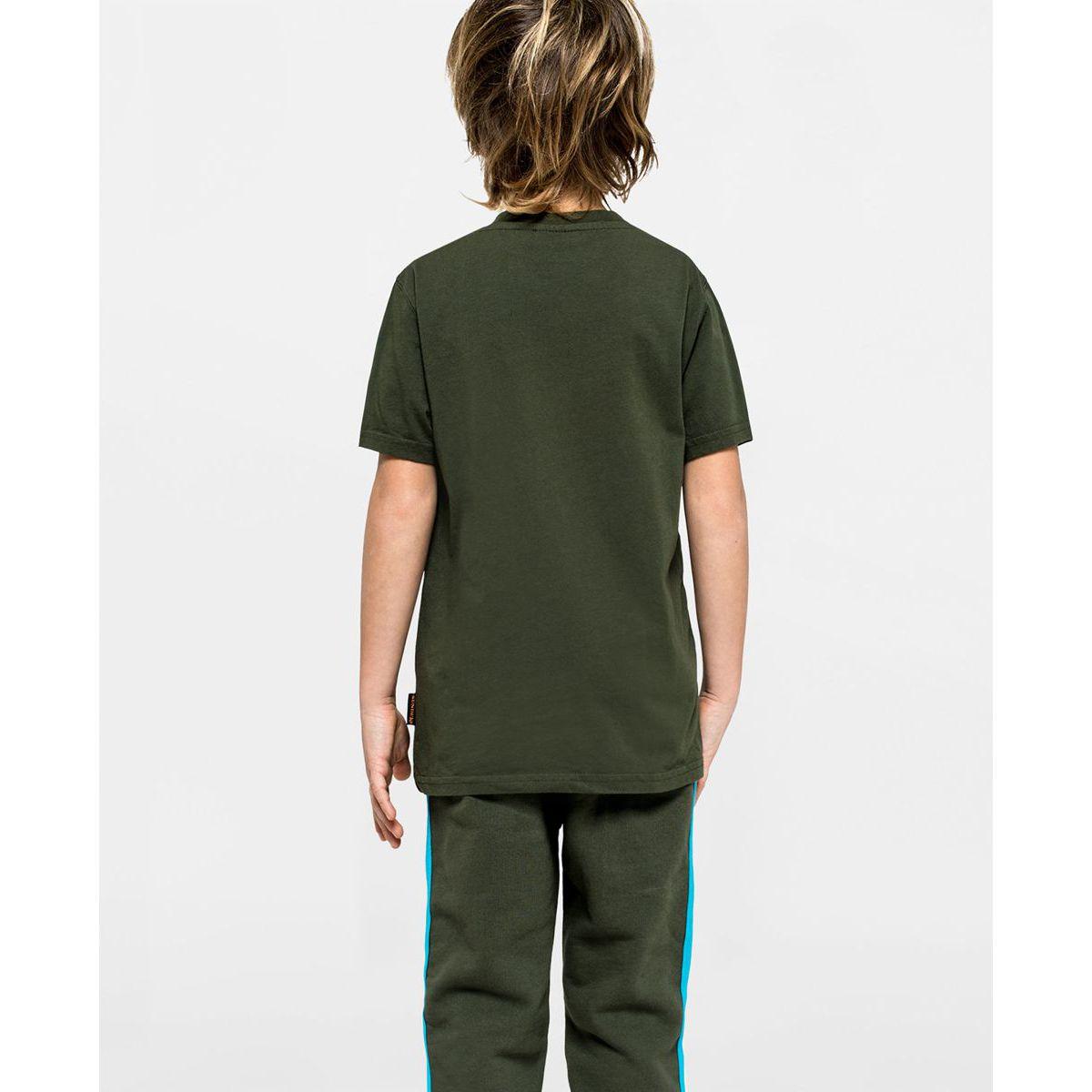T-shirt Dark ar.green Sundek