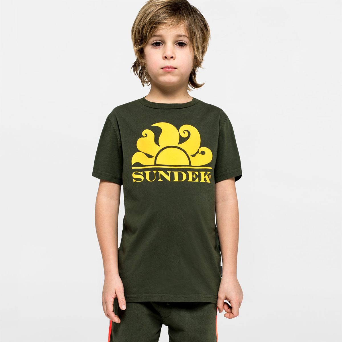 T-shirt Dark ar.green Sundek