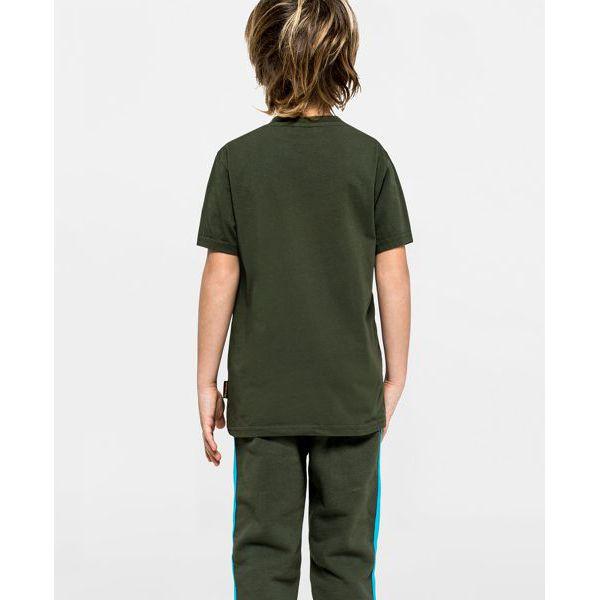2. T-shirt Dark ar.green Sundek