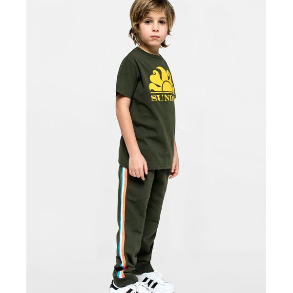 3. T-shirt Dark ar.green Sundek
