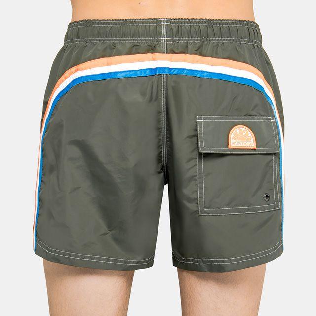 Boardshort elastic Dark green 7 Sundek