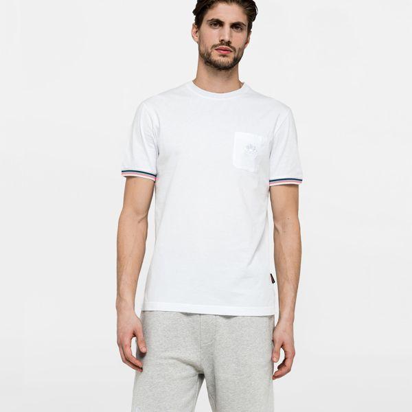 1. Finn t-shirt White 34 Sundek