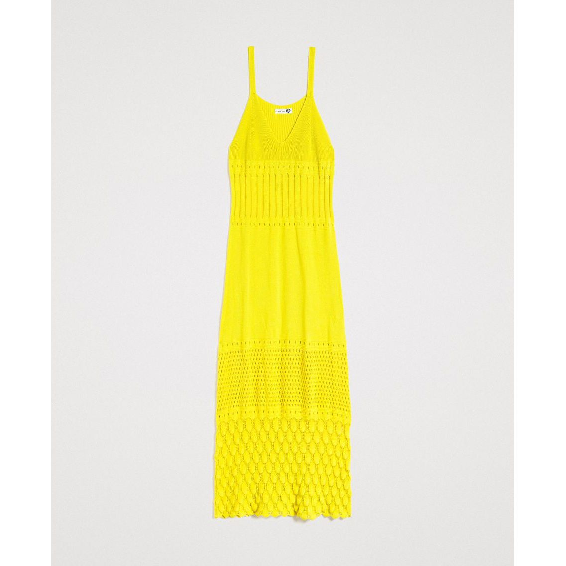 Long dress Lemon juice Twin Set